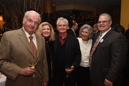 Pictured here are, from left, Berny Capaldi, Patty Capaldi, Steve Fenwick, Ann Glenn and Gabe Staino.